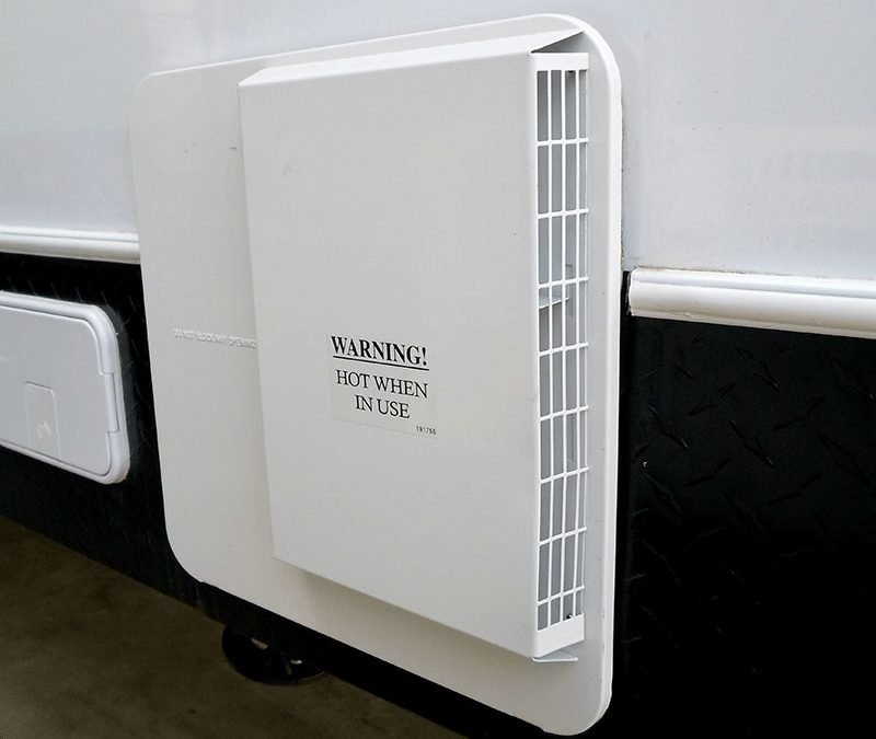 Maintaining your motorhome hot water system